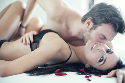 Passion in bed
